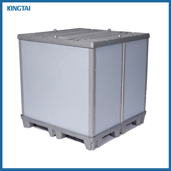 Hollow Plate Folable Pallet Box