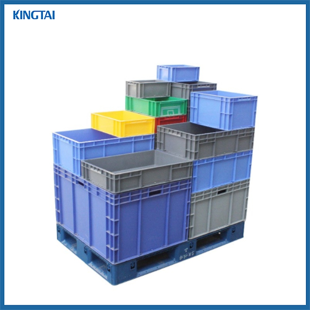 Plastic Closed Crate